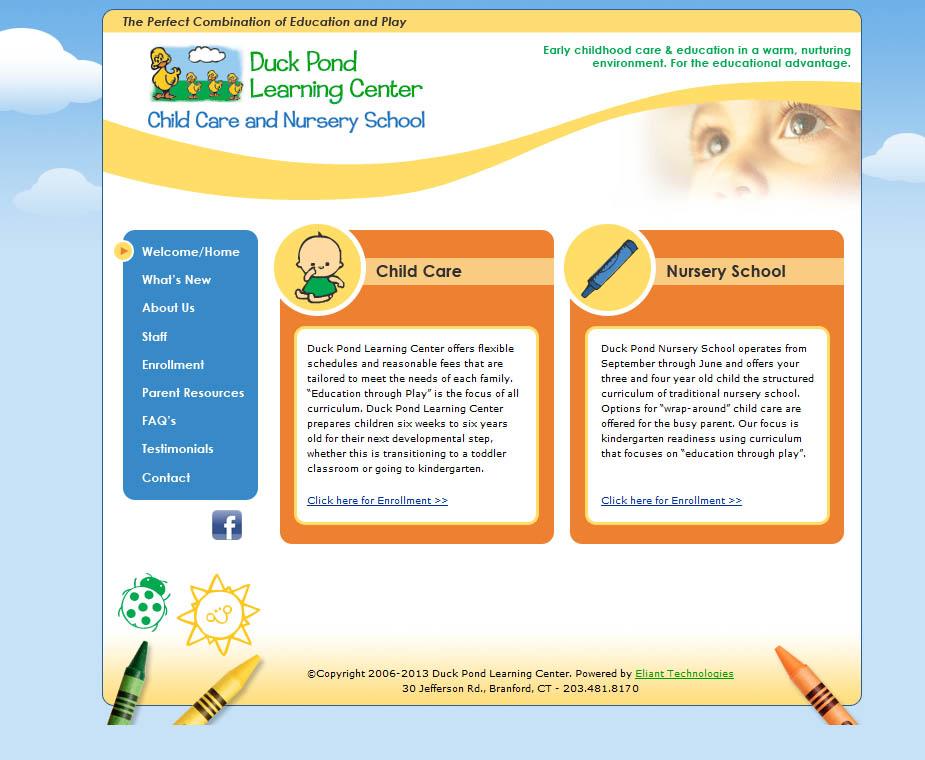 Nursery School Website