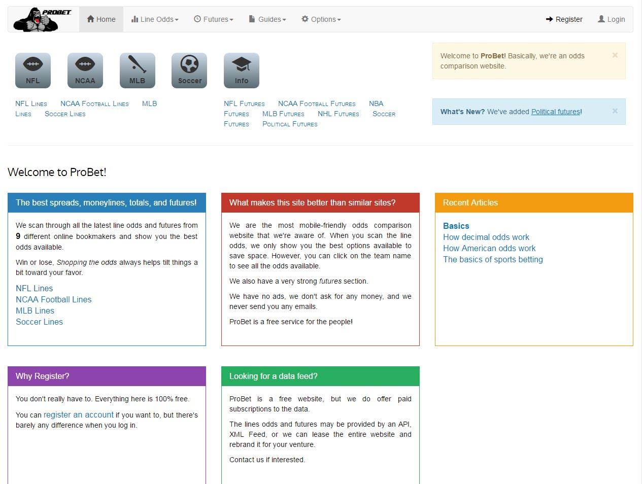 Information Aggregating Website