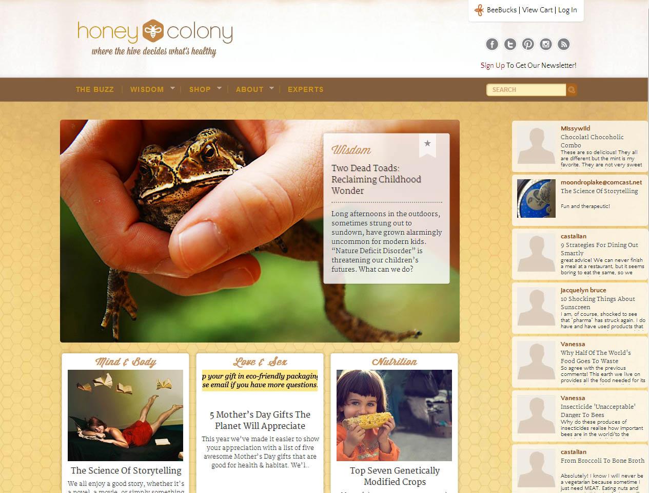 Eco-Friendly Health Blog